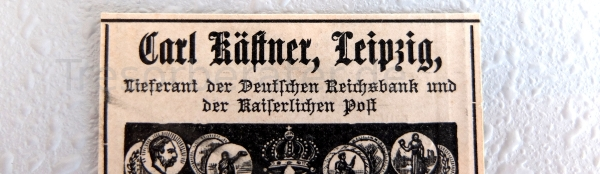 Tresorwerbung Carl Kästner Leipzig 1895