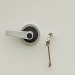 Schlüsselschloss VdS Klasse 1 oder 2 mit zwei Schlüsseln (Firma Mauer)