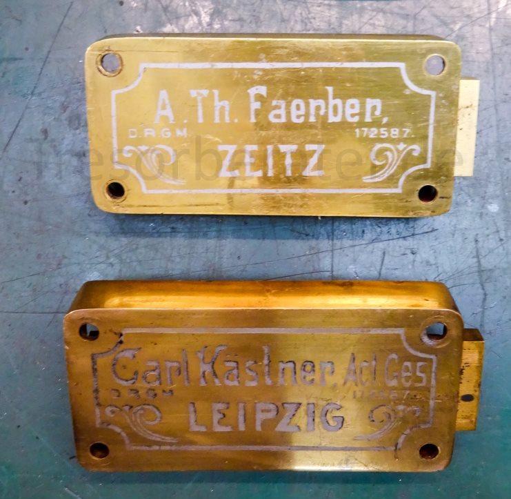 Anton Th. Färber Zeitz Tresorschloss